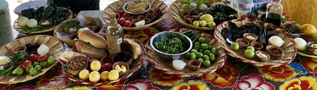 Oaxaca Fresh Ingredients